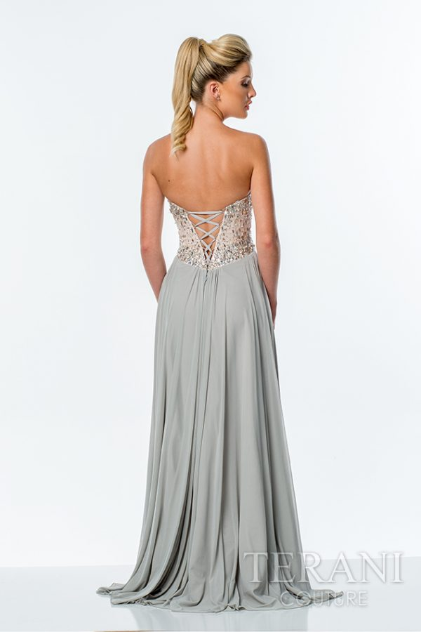 151P0036 Silver Nude Back