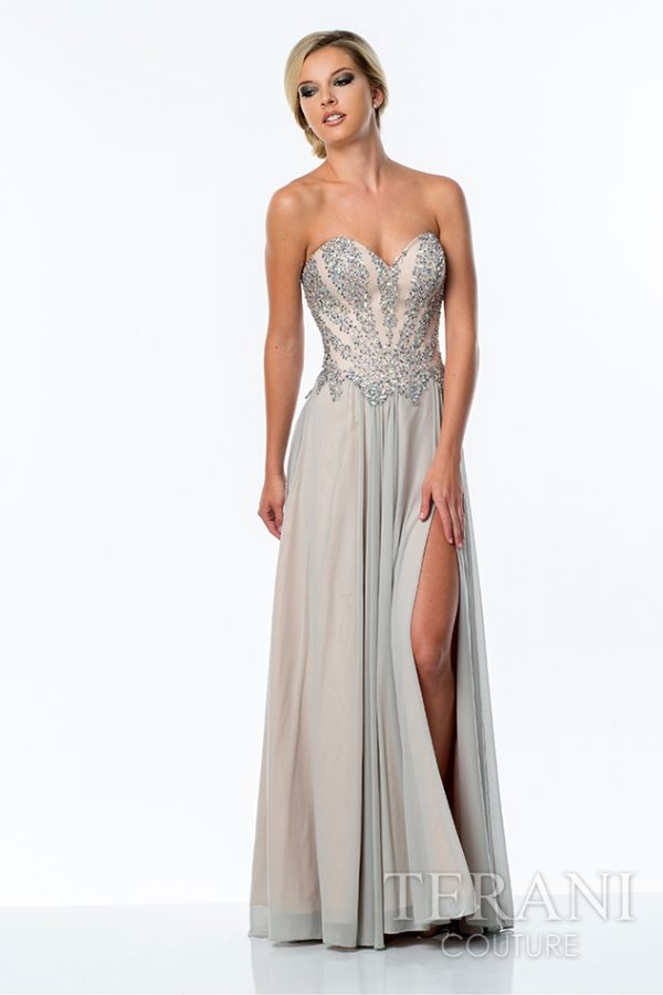 151P0037 Silver Nude Front