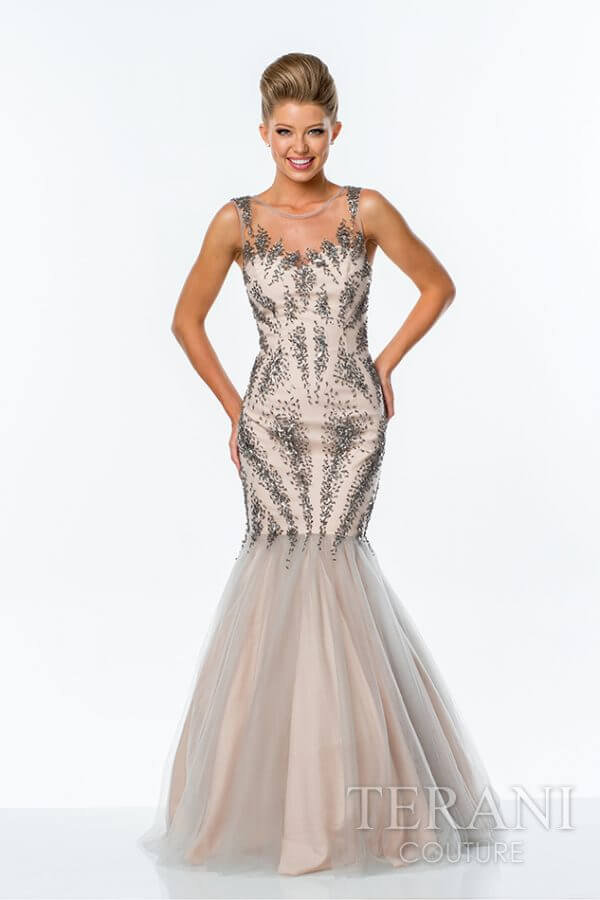 151P0129 Silver Nude Front
