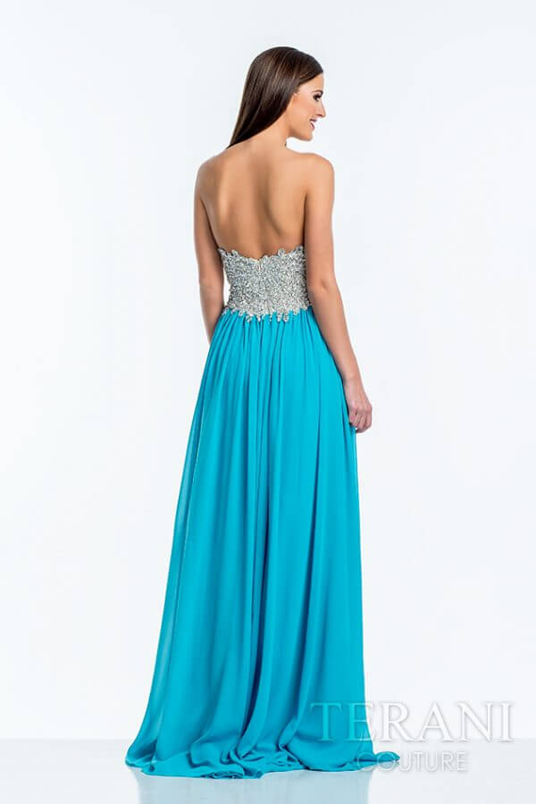 151P0385 Turquoise Back