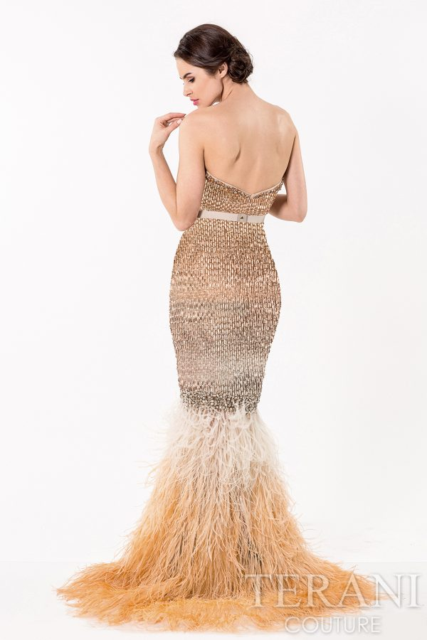 1521GL0763 Gold Ombre Back