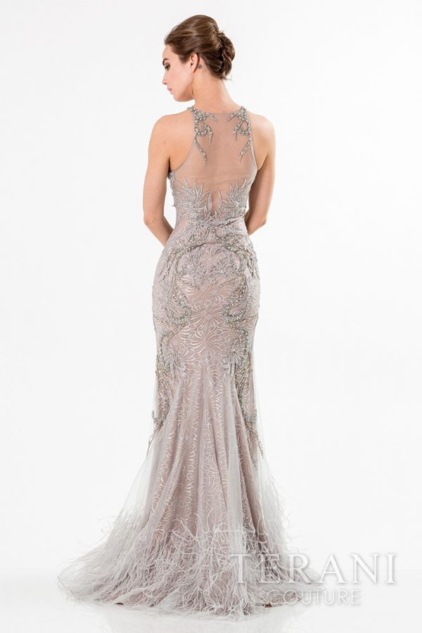 1521GL0788 Silver Nude Back