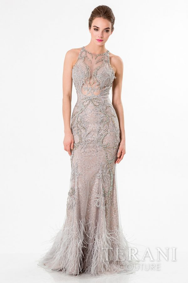 1521GL0788 Silver Nude Front