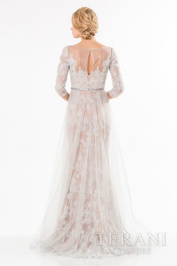 1521M0626 Silver Nude Back
