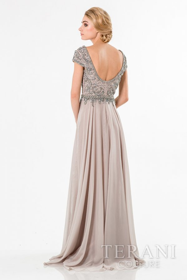 1521M0634 Silver Nude Back