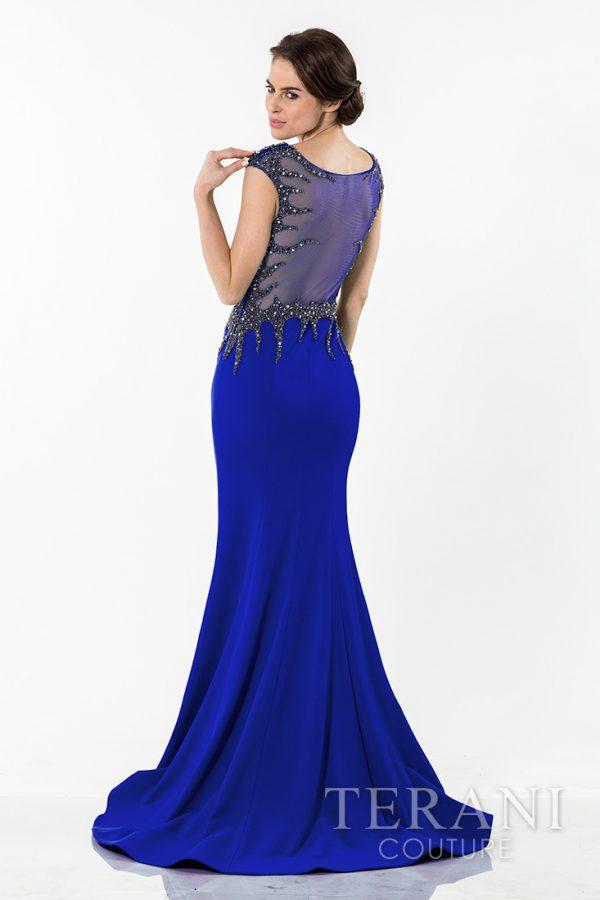 1522E0466 Royal Blue Back