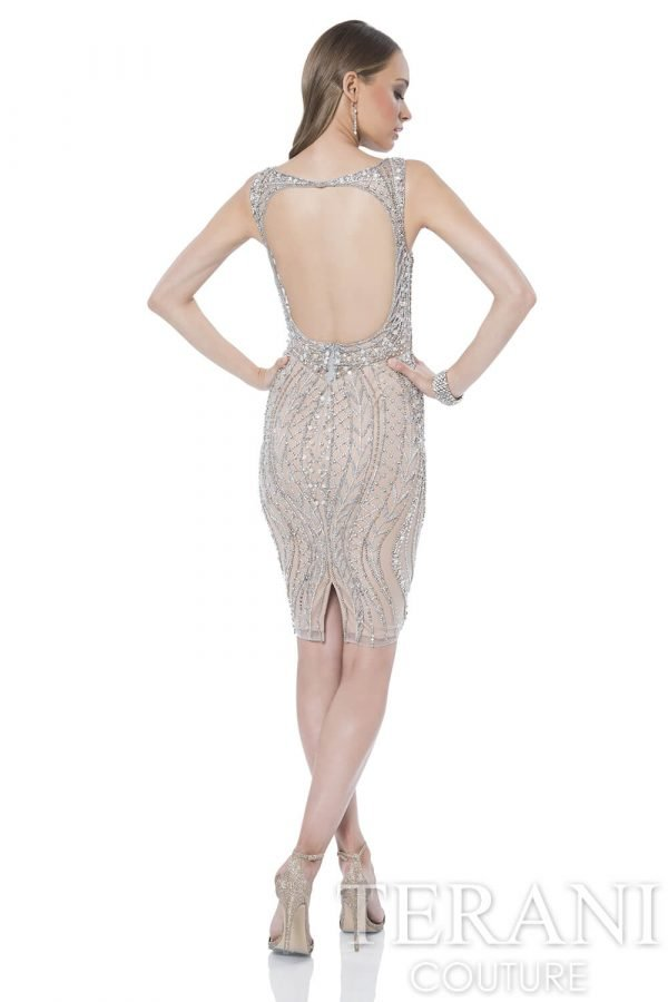 1611C0034 Silver Nude Back