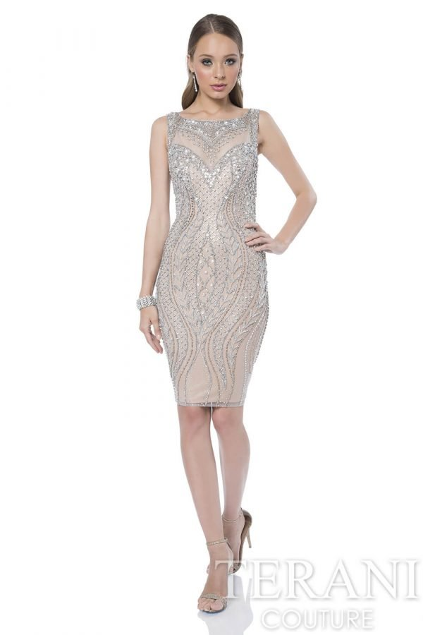 1611C0034 Silver Nude Front