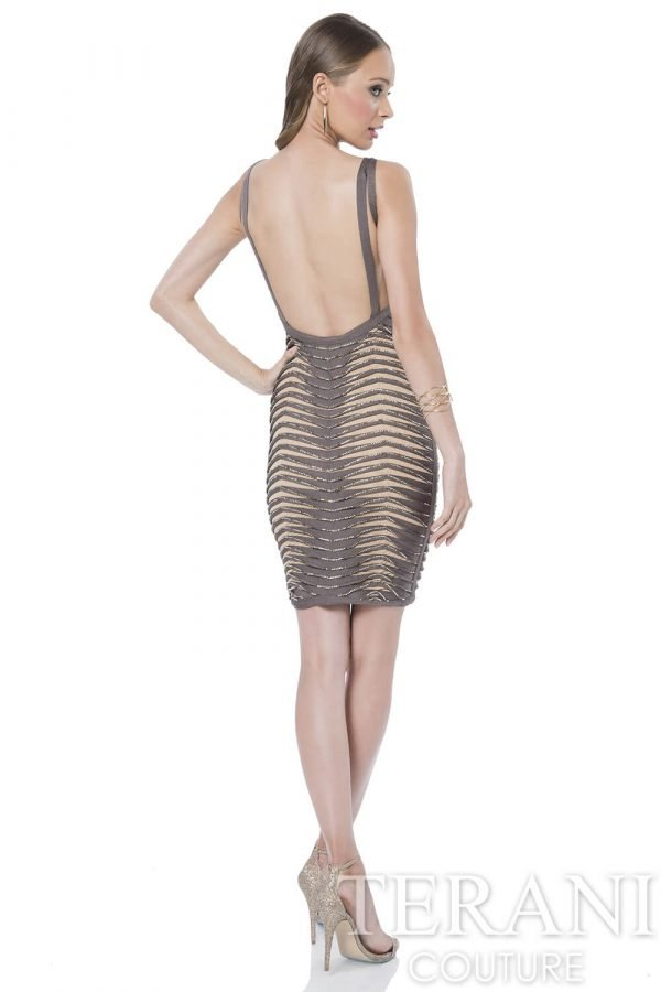 1611C0043 Taupe Nude Back