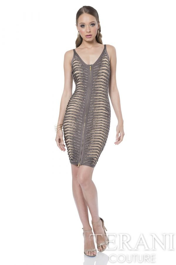 1611C0043 Taupe Nude Front