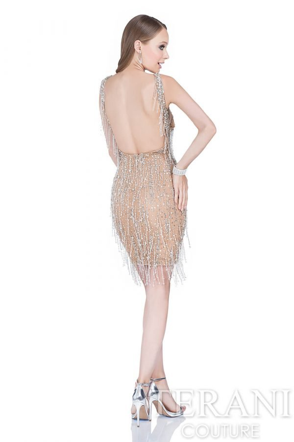 1612C0053 Silver Nude Back