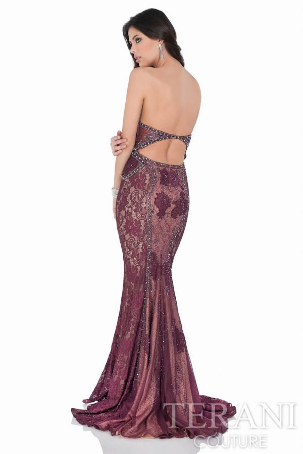 1621E1459 Wine Nude Back