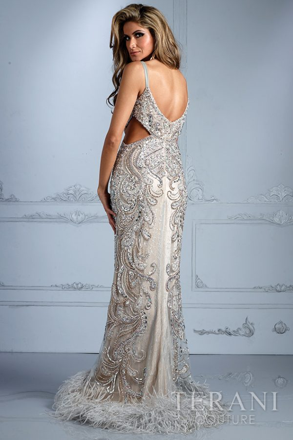 GL2316 Silver Nude Back