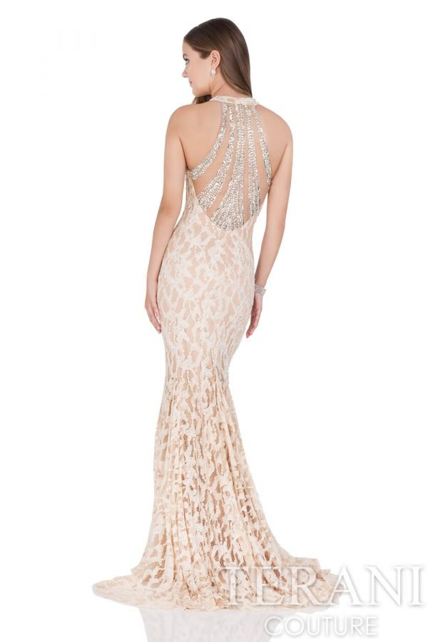 1611GL0488 Champagne Nude Back
