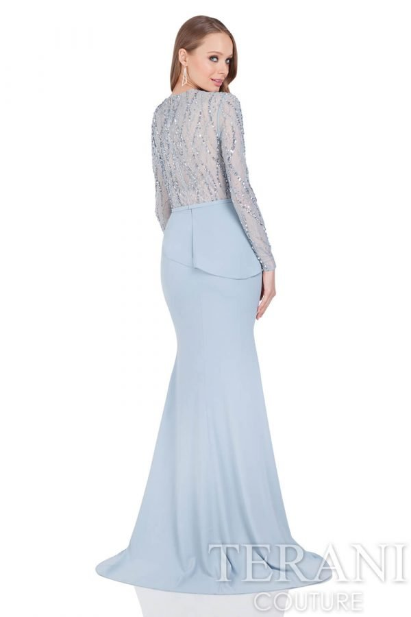 1611M0635 Powder Blue Back