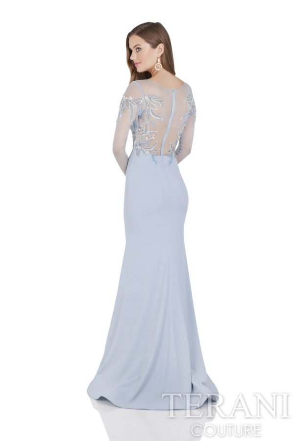 1611M0641 Powder Blue Back