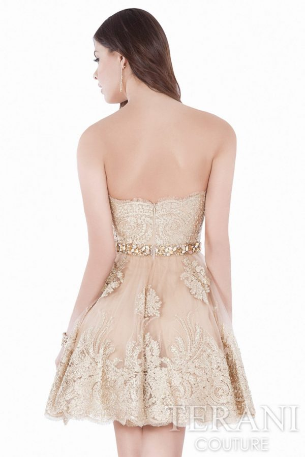 1622H1115 Gold Nude Back