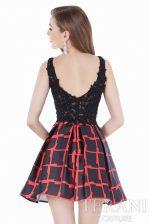 1625H1195 Black Red Back