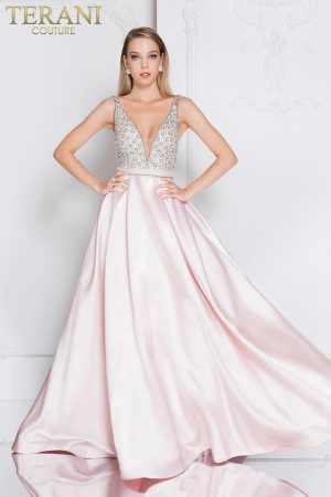Stone Bodice Prom Dress – 1811P5249X