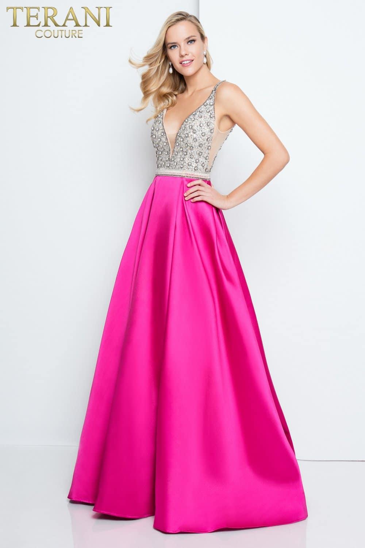 Stone Bodice Prom Dress 1811p5249x