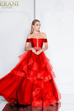 Off the Shoulder Ball Gown – 1811P5838