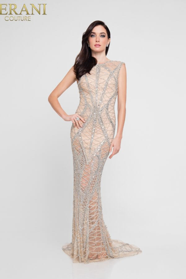 1812GL6499_Silver Nude_Front