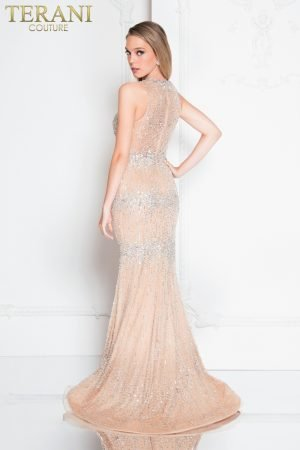 Sleeveless Beaded Prom Dress – 1812P5351