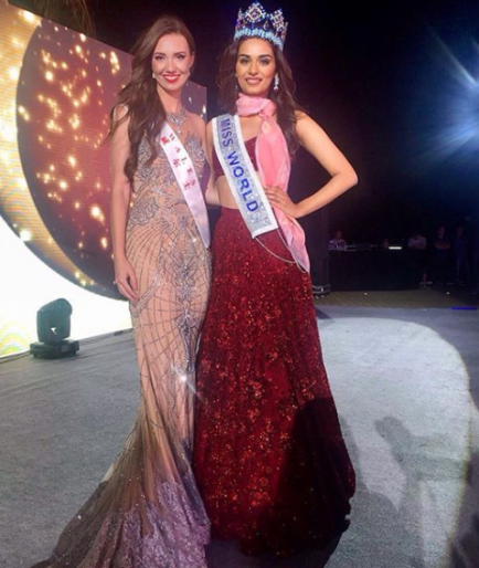 Terani Miss World Winning pageant dresses