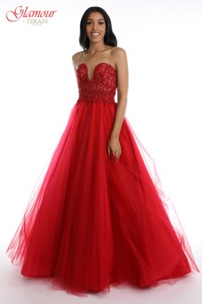 8e5d737223 Red Prom Dresses 2019