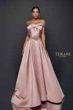 Wrapped Collar Ball Gown - 1921M0517