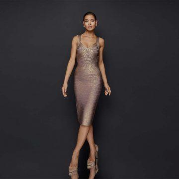 Fall 2019 cocktail dresses trending - 1921C0011