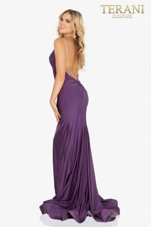 Sexy open back sleeveless prom dress –  2011P1036