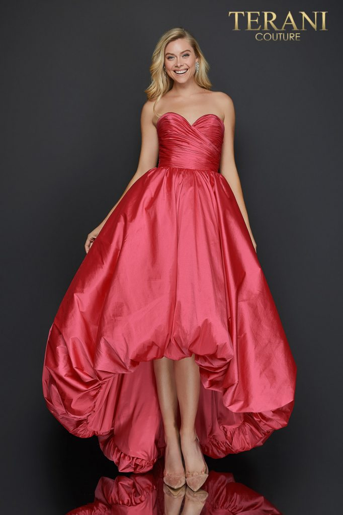 Sweetheart high low bubble skirt prom dress - 2011P1043