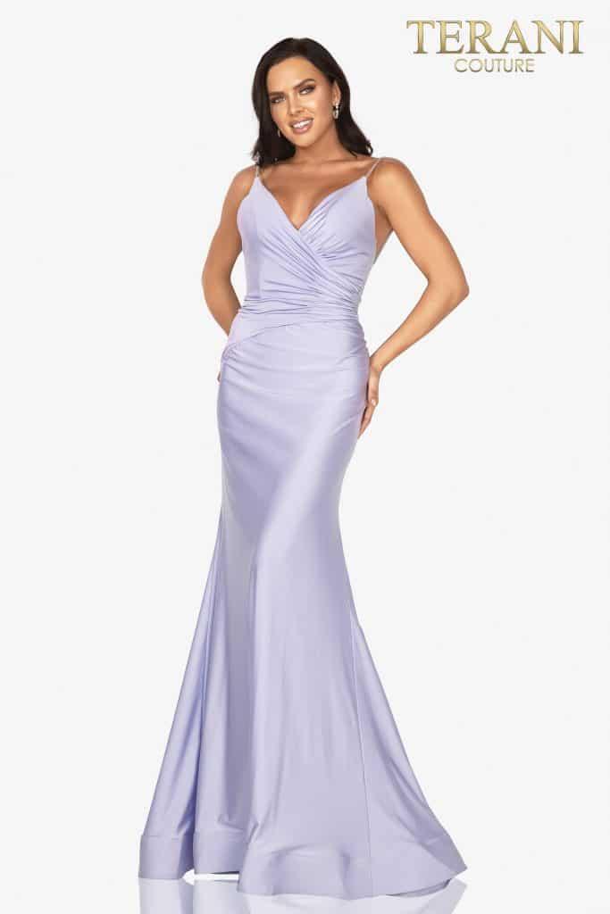 Style: v–neckline sexy prom dress – 2011P1235